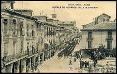 ALCALA DE HENARES : HAUSER Y MENET - CALLE DE LIBREROS. (Postales - España - Comunidad de Madrid Antigua (hasta 1939) - Madrid Capital)
