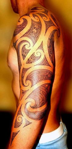 Cool tribal tattoos for guys