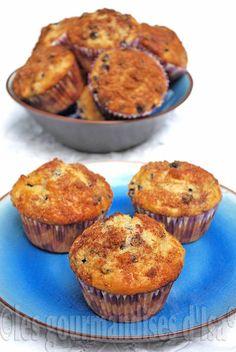 Muffins aux bleuets et à la farine d'épeautre #LMDConnector