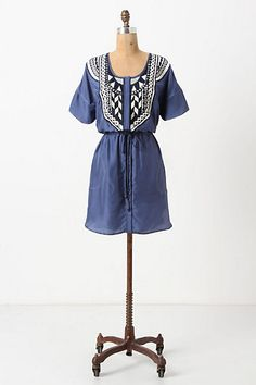 I think I could make something like this from an old mumu...