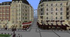 Minecraft Skyscraper, Minecraft City Buildings, Minecraft Castle, Minecraft Medieval, Minecraft Room, All Minecraft, Amazing Minecraft, Minecraft Construction, Minecraft Architecture