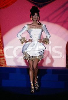 Yasmeen on the catwalk