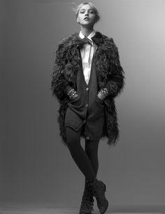 Sasha Pivovarova by Craig McDean 2008