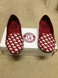 Alabama Crimson Tide. OMG THESE ARE MUST HAVES!!!!!