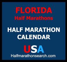 Florida Half Marathons - Orlando half marathons - Miami half marathons - Jacksonville half marathons - Tampa bay half marathons - Key West half marathons - running events - USA https://www.halfmarathonsearch.com/half-marathons-florida