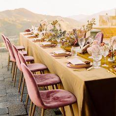 Adore Folklore – Best Women Fashion images in 2019 Boho Wedding, Elegant Wedding, Summer Wedding, Wedding Reception, Wedding Events, Wedding Table, Wedding Color Pallet, Eclectic Wedding, Wedding Decorations