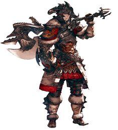 Final Fantasy XIV: A Realm Reborn - Hyur Warrior