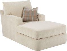 Klaussner Furniture Simms Chaise Lounge & Reviews | Wayfair