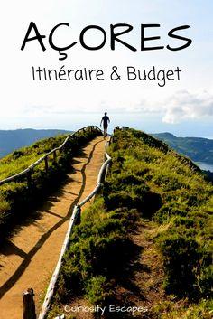 Itinéraire, choix des îles et budget pour 17 jours aux Açores.
