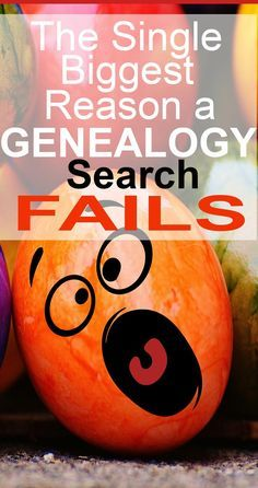As a long-time genealogy buff I've found the biggest culprit when it comes to failed searches. These are my suggestions Genealogy Search, Genealogy Sites, Genealogy Chart, Family Genealogy, Free Family Tree, Family Trees, Genealogy Organization, Family Research, Family Roots