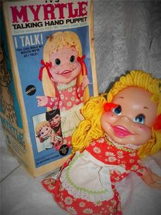 Mattel Myrtle talking doll with original box excellent talking clearly