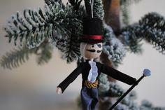 Drosselmeyer Notenkraker-Ballet opknoping kerst ornament, miniatuur christmas pop door OnASummerday op Etsy (null)
