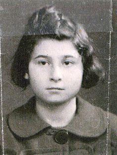Eliza Zytaner age 12 from Paris, France was sadly murdered in Auschwitz in 1945.