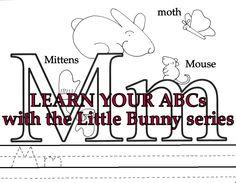 Original drawings, always FREE, Little Bunny Printables!!