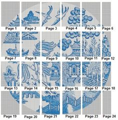 Blue+Willow+Pattern+Fabric | Pattern Layout: See a photo of the pattern layout.
