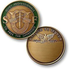 U.S. Army Special Forces Bronze Antique Coin