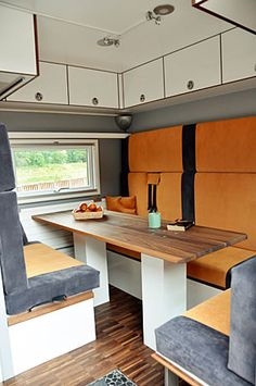 German Company Orangework crosses a tank with an RV, adds a splash of modern. What a truck.