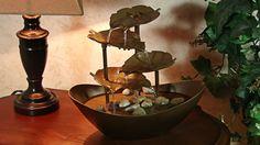 Garden Leaves Table Fountain