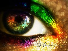 Rainbow Glitter by *ih8m0r0nz