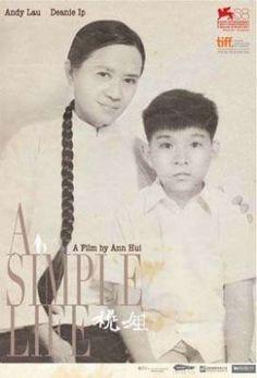 桃姐 (A Simple Life) nspired by a true story, the film tells about a heartwarming relationship between a young master of a big family, Roger (Andy Lau) and the servant of the family who raised him, Sister Peach (Deanie Ip).