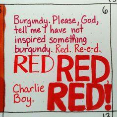 6/6: Red #kccolorchallenge #red #kinkyboots #kristinacastagnola