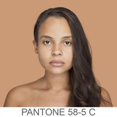 humanæ . . . Artist is mapping human portraits to Pantone colors. So cool.