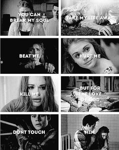 #TeenWolf #teen #wolf #Lydia #Stiles #dont #touch #him