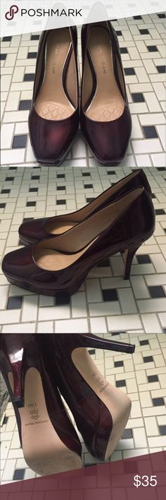 Antonio Melani wine color heels Antonio Melani wine colored heels. Beautiful heels worn once! Perfect condition. Amazing wine color. ANTONIO MELANI Shoes Heels