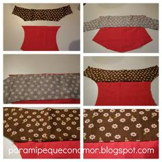 Para mi peque con amor: Riñonera con bolsillo de fuelle. Tutorial Sewing Tutorials, Mosaic, Two Piece Skirt Set, Couture, Crafts, Fashion, Hip Bag, Scrappy Quilts, Ideas