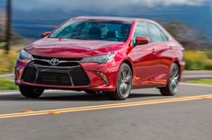 We've tested the more powerful and frugal hybrid variants, but we haven't tested the volume 2017 Toyota Camry engine. Read more on the first test here. – Toyota of Naperville – Join the world of pin 2015 Toyota Camry, Toyota Cars, Toyota V6, Kia Rio Sedan, Mid Size Sedan, Most Popular Cars, Latest Cars, Used Cars, Cool Cars