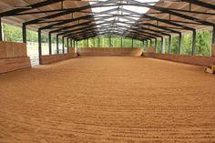 Indoor arena with Pinnacle footing