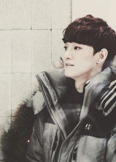puffy coat jongdae is adorable jongdae~