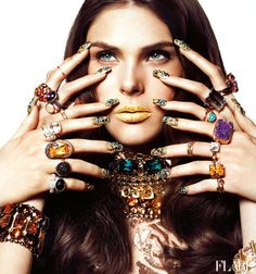 Accessorize This - FLARE's Accessory Guide / Beauty Director: Carlene Higgins / Assistant Art Director: Jessica Hotson / Photographer: Chris Nicholls