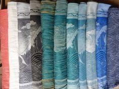 Oscha waves collection!! Oh how I wish!!Rei coraline (silk, linen), kasumi felix (hemp), okinami zen, Okinami Noir (lambswool, silk), kasumi Nahua (hemp),Oki Zeka (linen co tton) Okinami Sia (wild silk), oki harris (tussah silk), oki kai (20% linen), oki skye, rei romeo (bamboo)