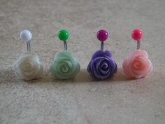 Bellybutton rings... I want my belly button pierced SO bad