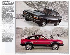 1983 AMC Eagle SX/4s with Sports Package