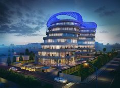 Located in suburban NCR within proximity of central Delhi and very close to the International airport, Gulf Adiba is a proposed IT/ ITES office complex located in Udyog Vihar Phase II, Gurgaon. Just 1km off the National Highway 8, the building is aptly positioned on a 4000 sq m industrial plot within a dense office complex site comprising of other similar milieu. With a design brief of a contemporary, yet elegant and functional edifice that had to be vaastu-compliant, the development is ...