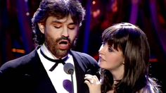 Makes my day and makes me cry every single time.  Sarah Brightman & Andrea Bocelli - Time to Say Goodbye  1997 Video  ster...