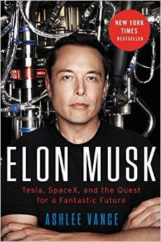 """""""A New York Times Bestseller - Named One of the Best Books of the Year 2015, by The Wall Street Journal, NPR. In 'Elon Musk', veteran technology journalist Ashlee Vance provides the first inside look into the extraordinary life and times of Silicon Valley's most audacious entrepreneur. Written with exclusive access to Musk, his family and friends, the book traces the entrepreneur's journey from a rough upbringing in South Africa to the pinnacle of the global business world."""""""