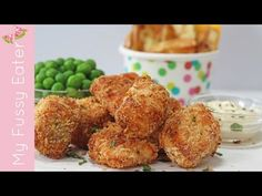 Delicious and super easy to make, crispy baked salmon nuggets made using Norwegian Salmon.