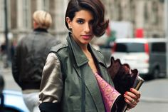 Short hair with a twist. PFW F/W12 Princess Deena al-Juhani Abdulaziz