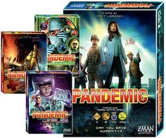 Tempest Tome Games Pandemic Board Game Bundle Giveaway! Ends May 29, 2016.
