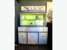 Mid-Century Buffet and Hutch - WHY can't this be in Ottawa???   Gorgeous on UsedVictoria.com