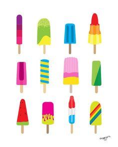 Popsicle Illustration