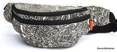 New   Fanny pack : flower pattern belt pouch by SiennaBartolomei