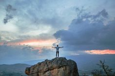 Boy standing on Mountain looking at clouds in Villa de Leyva image - Free stock photo - Public Domain photo - Images Live For Yourself, Finding Yourself, John Johnson, Grande Hotel, Les Cascades, Machu Picchu, Life Purpose, Tony Robbins, When Us