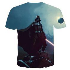 40638c815 New Fashion starwars tshirt Men Women T-shirt 3D Print Star Wars Movie Tee  shirts