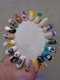 My Animal wheel @ http://www.stylecraze.com/photos/nails-photos/
