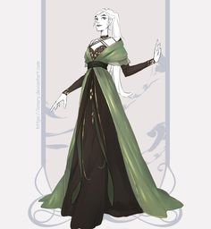 Fashion Sketches, Art Sketches, Mage Robes, Queen Aesthetic, Princess Art, Fantasy Dress, Anime Outfits, Costume Design, Anime Love