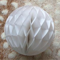 『【DIY】ハニカムボールの作り方』